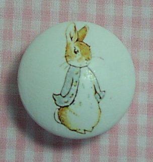knob peter rabbit drawer door cabinet knobs child baby time