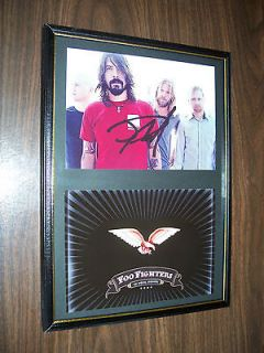 LTD EDITION SIGNED FRAMED DAVE GROHL FOO FIGHTERS *COA