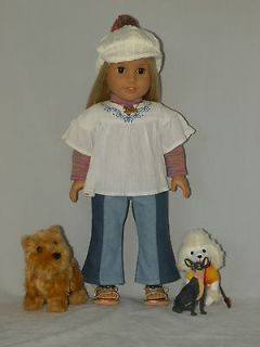 american girl doll julie blond hair and brown eyes 18