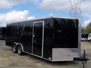 5x20 bullet enclosed toy hauler cargo motorcycle car hauler trailer