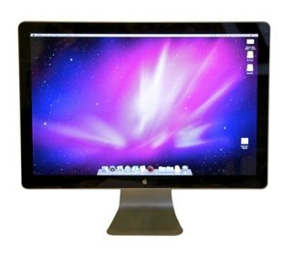 Apple Cinema LED Cinema Display 24 Widescreen LCD Monitor with built