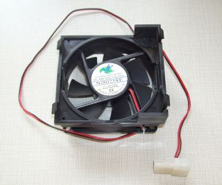 JIE NJ8025SE LOW NOISE LONG LIFE TIME DC BRUSHLESS FAN DC 12V 0.06A