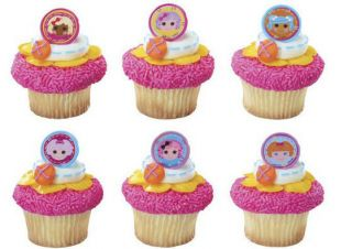 24 LALALOOPSY BIRTHDAY PARTY CAKE CUPCAKE FOOD DESERTS DECORATION