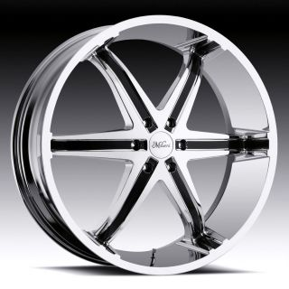 20 inch milanni kool whip chrome wheels 6x5 5 6x139 7  935