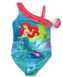 NWT Disney The Little Mermaid Ariel Swimsuit (A) Size 2 11Y