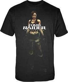 tomb raider t shirt cloth tee new lara croft psp men s
