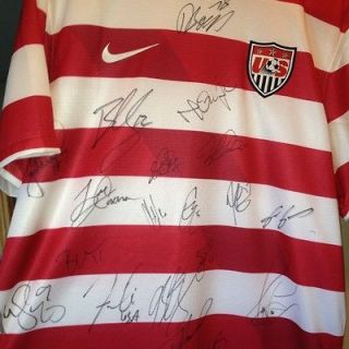 Newly listed US Soccer MNT Signed Jersey World Cup Soccer 2012