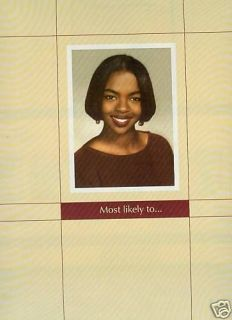 lauryn hill most likely 1998 promo poster ad time left