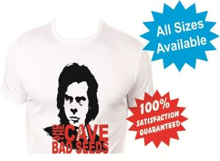 nick cave and the bad seeds Mens T Shirt New White Custom Print Tee