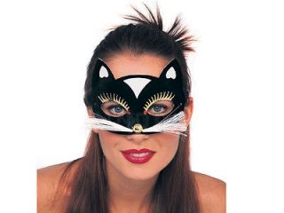 Masquerade Black Cute Cat Girl Mask Panther Costume Theme Party
