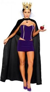 WITCH SNOW WHITE QUEEN FANCY DRESS COSTUME ONE SIZE FREE POSTAGE
