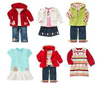Gymboree NWT Cozy Cutie Hoodie Shirt Pant Skirt Dress Coat 3 6 12 18 2