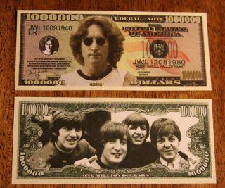 the beatles john lennon english rock musician 1000000
