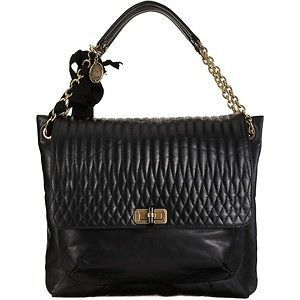 SALE* GORGEOUS LANVIN $3,000 Happy GM Quilted Leather Bag 2012 Purse