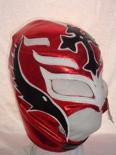 REY MYSTERIO WRESTLING MASK WWE COSTUME SEMI PRO LACES ON THE BACK