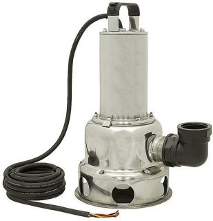 HP 460 VOLT AC 3 PHASE STAINLESS STEEL MYERS SUBMERSIBLE SEWAGE PUMP