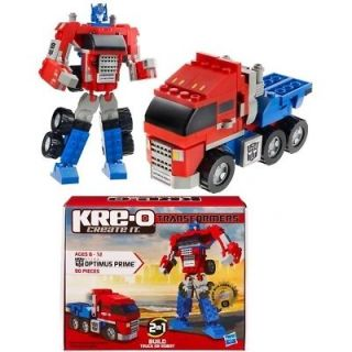 TRANSFORMERS KRE O OPTIMUS PRIME BASIC BNIB 90 PIECES LEGO STYLE