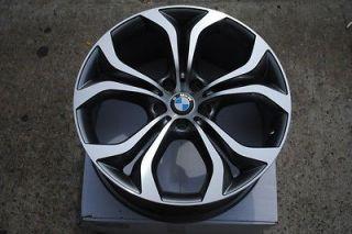 20 Y Style BMW Gunmetal Machine Wheels Rims Staggered fits Acura MDX