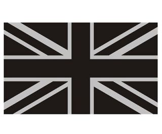 Britain Subdued Union Jack Flag Tactical British Car Vinyl Sticker