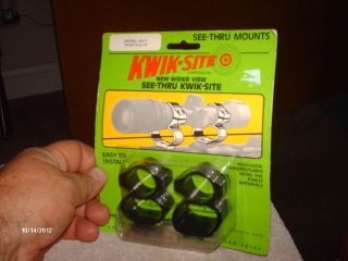 KWIK SITE MODEL KS 7 SEE THRU 1 INCH DIA. SCOPE FOR REMINGTON MODEL 7