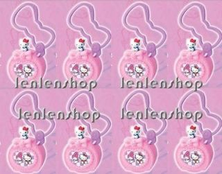 hello kitty with stamp mcdonald s happy meal pendant pink