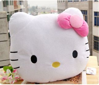 KT2 40CM HELLO KITTY PLUSH PILLOW CUSHION DOLL LOLITA PINK BOWKNOT