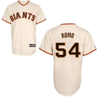 Sergio Romo San Francisco Giants Majestic Replica Jersey Any Size Mens