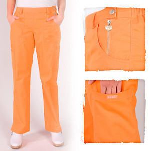 NEW KOI ZARA SARA NURSING UNIFORM SCRUB PANTS PERSIMMON XS 3XL PETITE