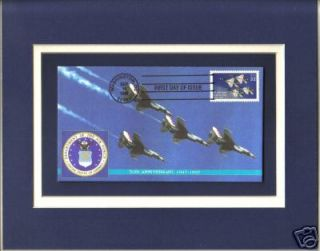 US AIR FORCE 50th Anniversary Thunderbirds 1st Day Cover USAF