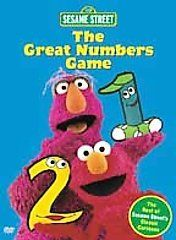 new sesame street the great numbers game dvd 2001 sealed