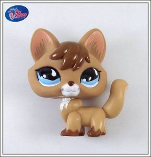 littlest pet shop lot tan fox 673 rare ps01 from