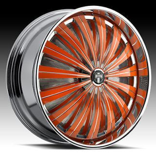 26 dub flash spinner wheel set custom colors time left $ 5495 00 buy