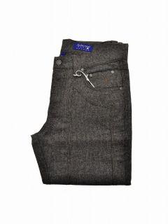 pantaloni uomo jeckerson 23pcju pa01 microfantasia moro lana col 7007