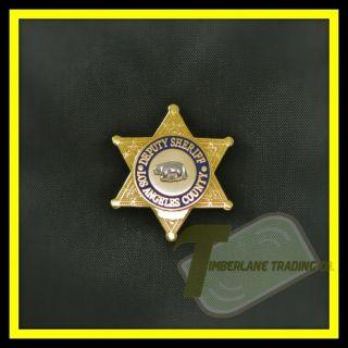 NEW LASD Los Angeles County Sheriff Mini Deputy Badge Lapel Pin