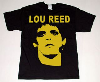 lou reed t shirt sz xl rock animal velvet underground