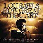 how great thou art lou rawls cd