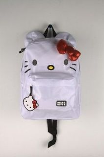 loungefly hello kitty white red bow with ears backpack 1974