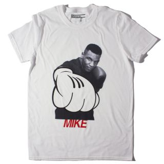 Mickey Tyson T Shirt  SMALL  iron mike, mickey mouse, glove, funny