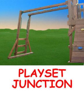 SWING SET MONKEY BAR KIT PLANS WOODEN BARS PLAYGROUND PLAYSET PARTS
