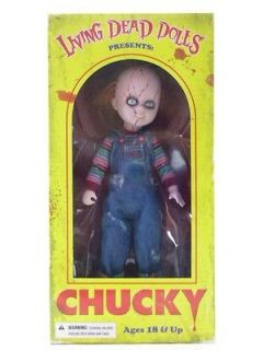 LIVING DEAD DOLL   CHUCKY  THE ORIGINAL GOOD GUY   BRAND NEW FACTORY