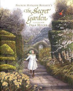 The Secret Garden by Frances Hodgson Burnett 2008, Hardcover