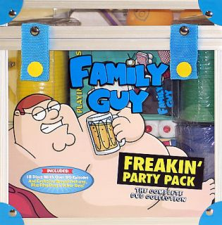Family Guy   Freakin Party Pack (DVD, 2007, 17 Disc Set, Bo