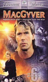 MacGyver   The Complete Sixth Season DVD, 2006, 6 Disc Set