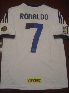 Newly listed Cristiano Ronaldo Real Madrid soccer jersey 2012   2013