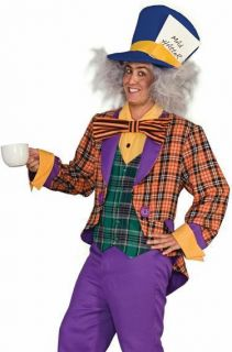 mad hatter outfit adult wonderland halloween costume one day shipping