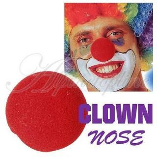 Red Foam Ball Clown Nose Costume Cosplay Halloween Party Funny Favor