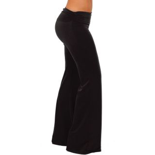 Wide Leg Low Rise Gaucho Palazzo Exercise Yoga Lounge Pants S M L