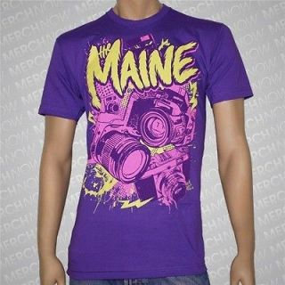 the maine cameras t shirt all time low new s m l xl