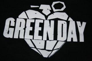 Green Day Hoodie Punk Rock Hooded Sweatshirt Sweat Shirt   Large Punk