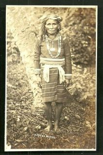 apayao woman rppc costume jewels luzon philippines 30s from